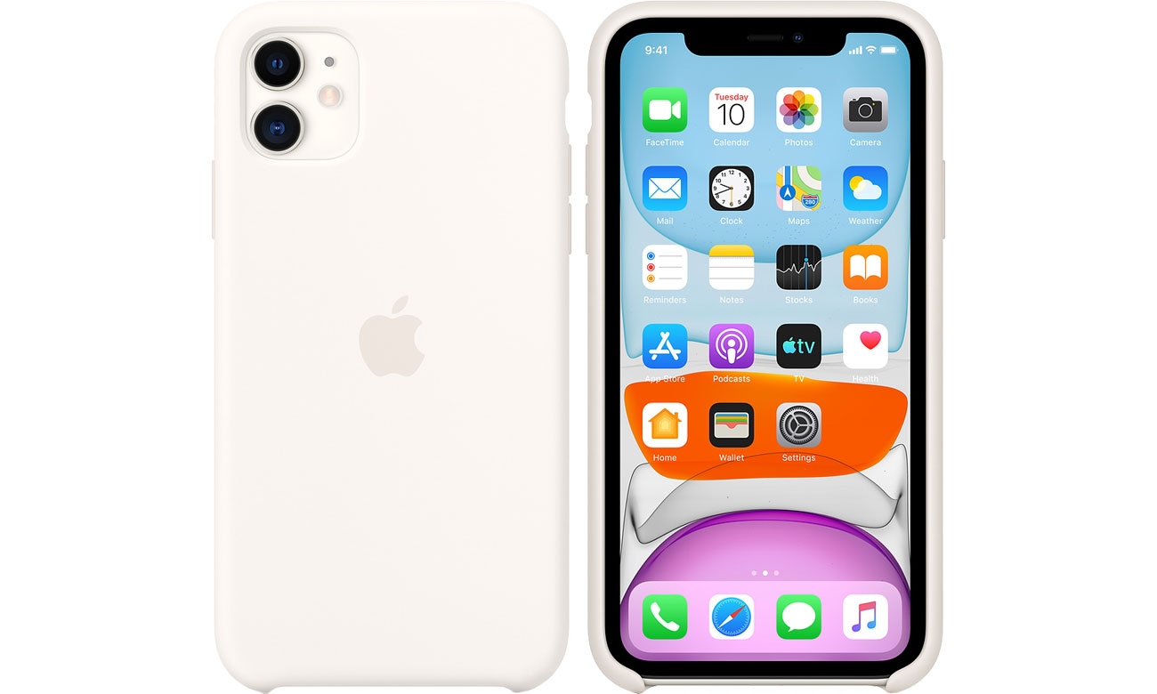 Apple Silicone Case do iPhone 11 White MWVX2ZM/A