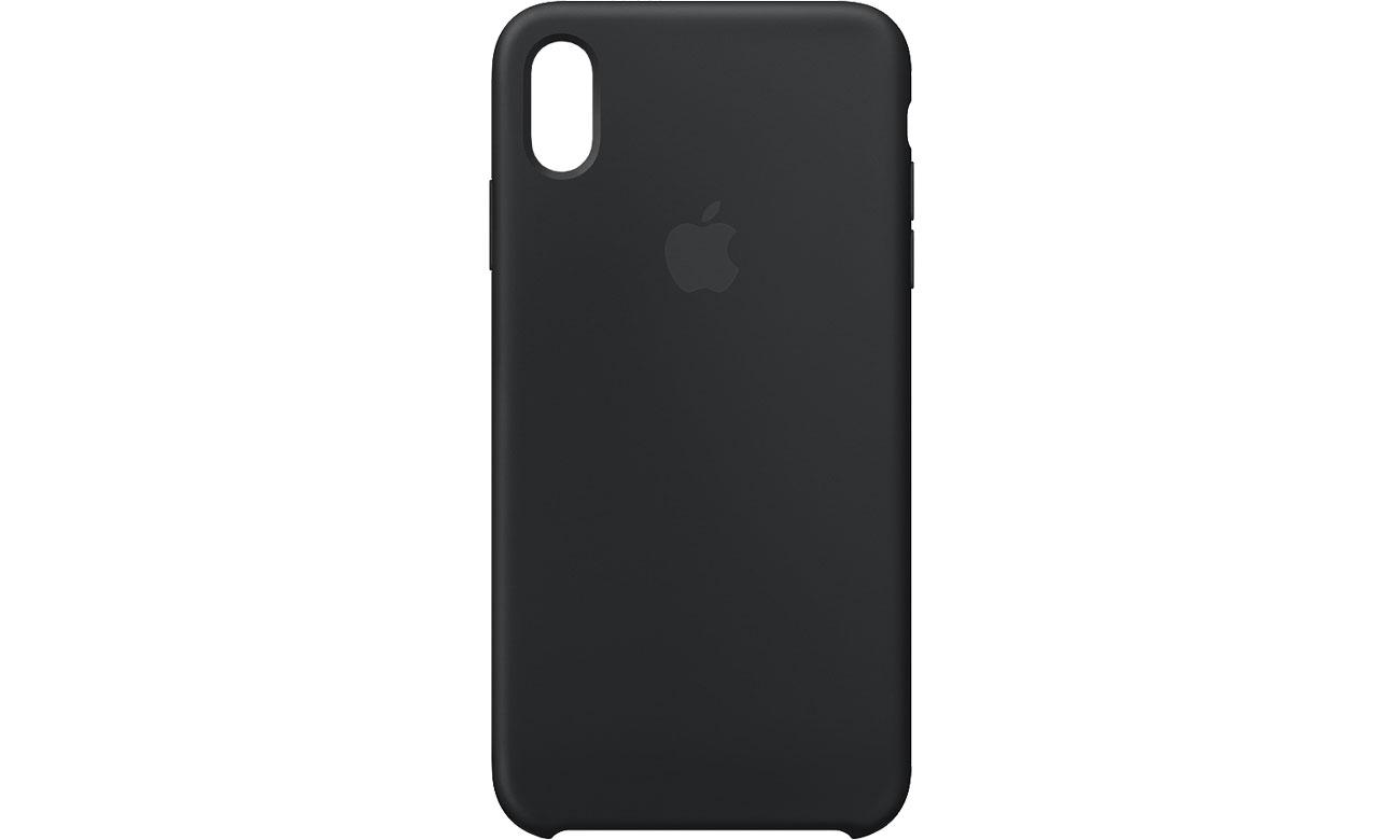 Apple iPhone XS Max Silicone Case Czarne