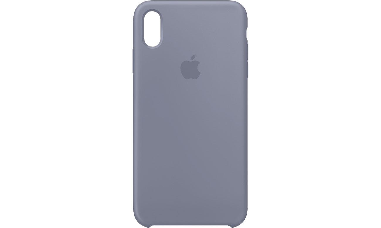 Apple iPhone XS Max Silicone Case Lawendowa Szarość