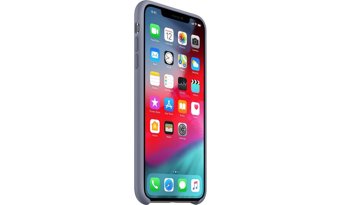 hot sale online d76ba feec2 Apple iPhone XS Max Silicone Case Lavender Gray - Etui i obudowy na  smartfony - Sklep komputerowy - x-kom.pl