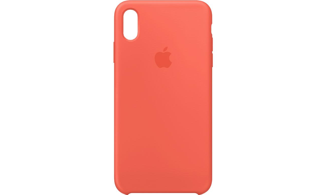 Apple iPhone XS Max Silicone Case Nektarynka