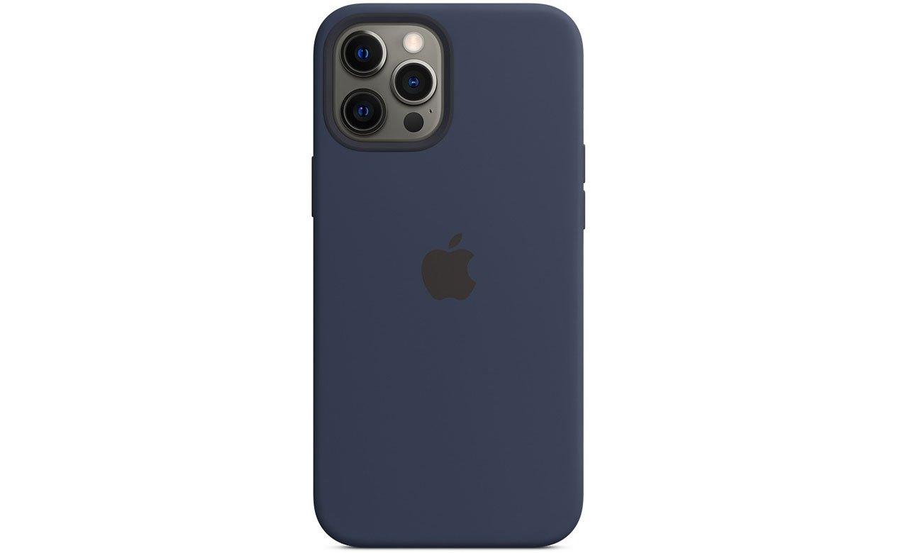 Silikonowe etui z MagSafe do Apple iPhone 12 Pro Max - Głęboki granat