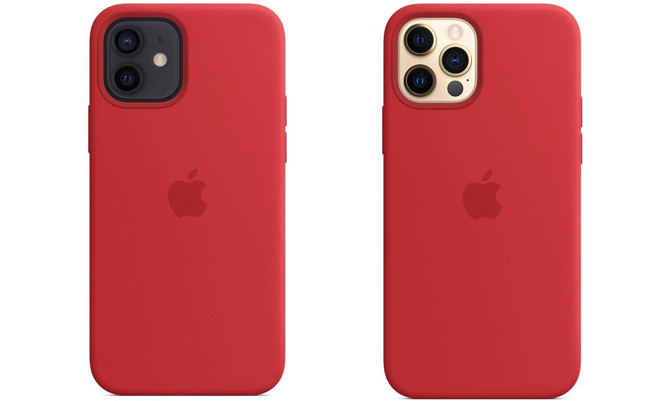 Silikonowe etui z MagSafe do Apple iPhone 12/12 Pro - (PRODUCT)RED