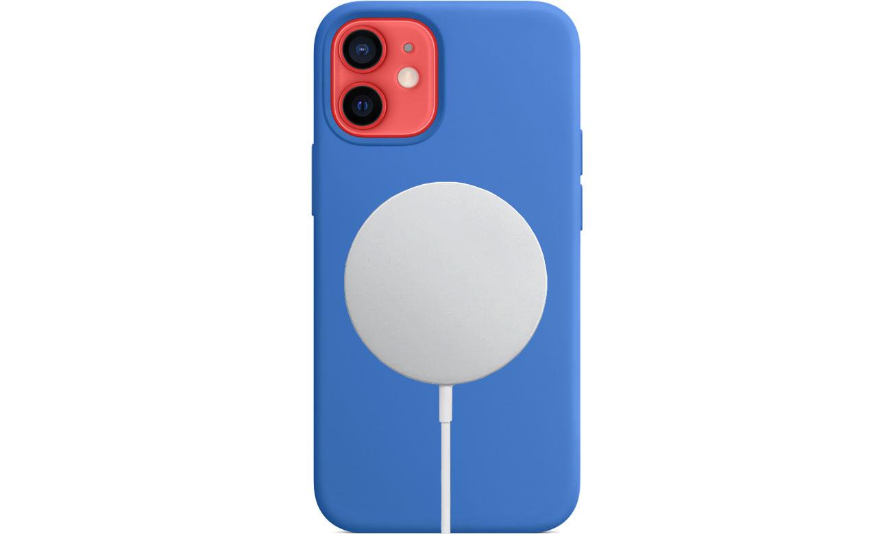 Apple Silikonowe etui iPhone 12 mini adriatycki błękit MJYU3ZM/A