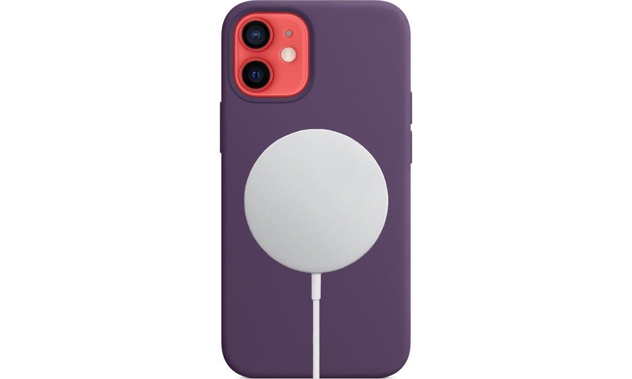 Apple Silikonowe etui iPhone 12 mini ametyst MJYX3ZM/A