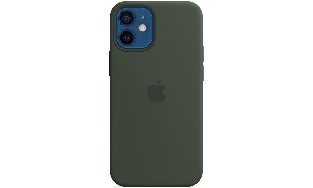 Silikonowe etui z MagSafe do Apple iPhone 12 mini - Cypryjska zieleń