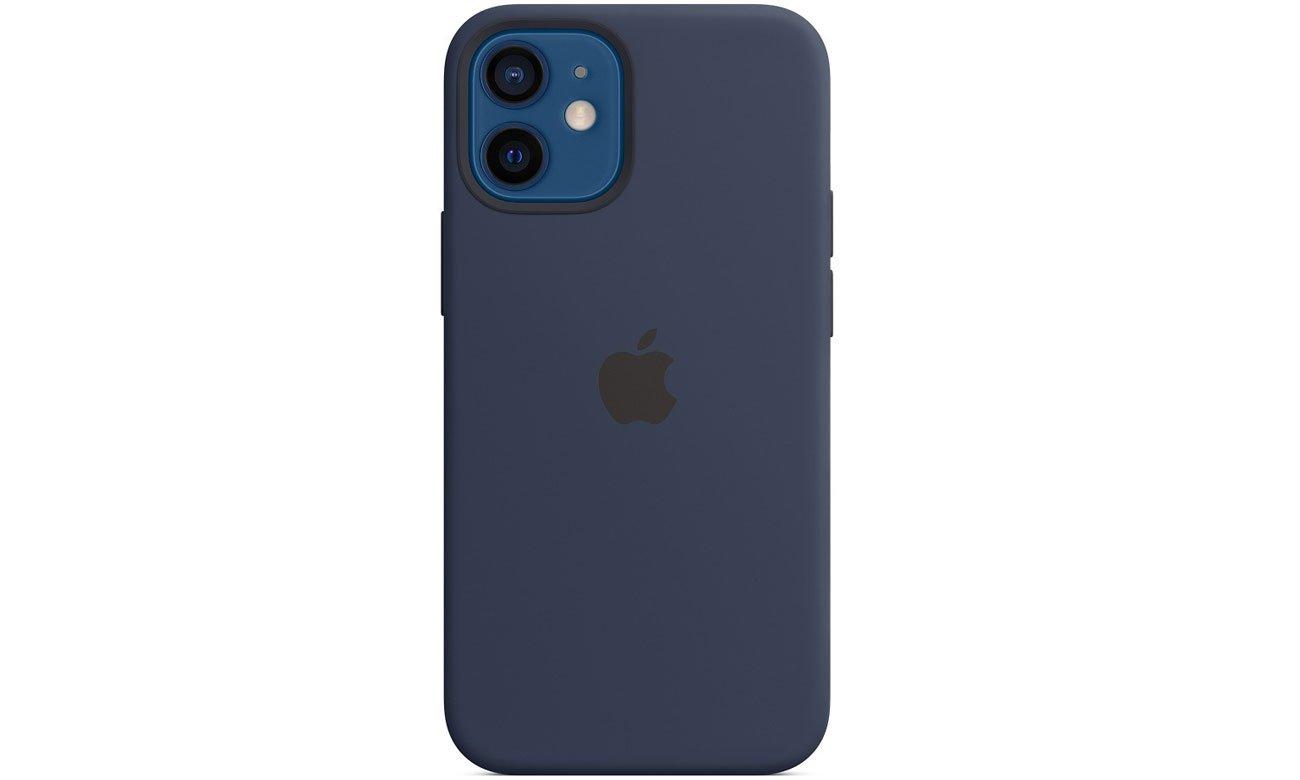 Silikonowe etui z MagSafe do Apple iPhone 12 mini - Głęboki granat