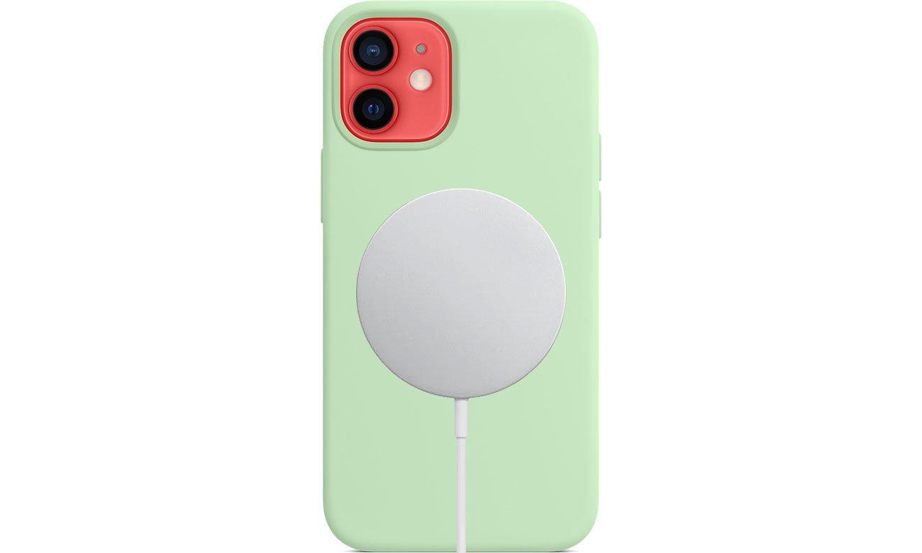 Apple Silikonowe etui iPhone 12 mini pistacjowe MJYV3ZM/A