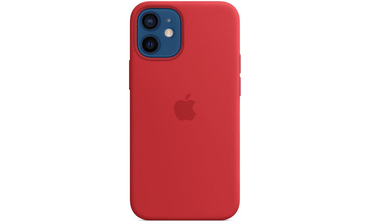 Silikonowe etui z MagSafe do Apple iPhone 12 mini - (PRODUCT)RED