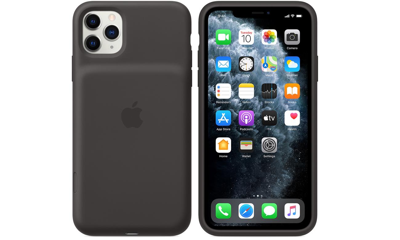 Etui Apple Smart Battery Case do iPhone 11 Pro Max Czarne