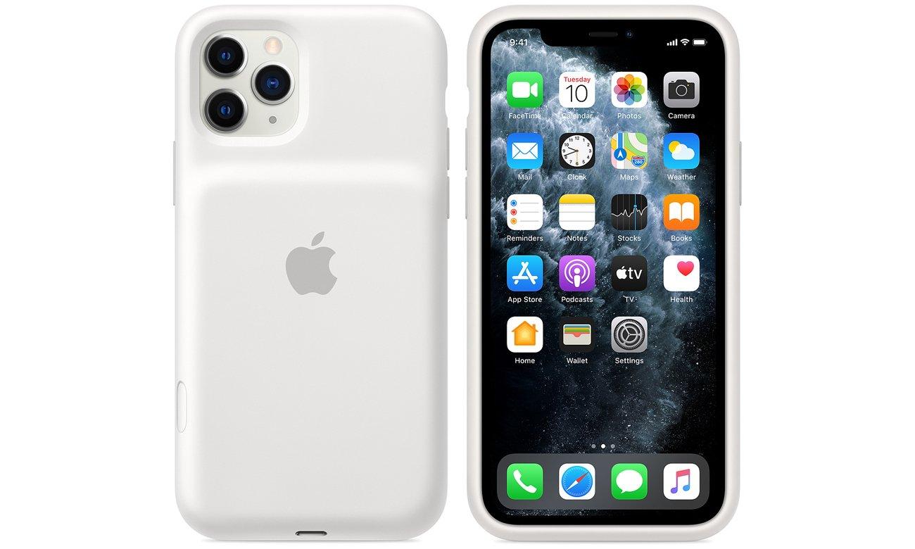 Etui Apple Smart Battery Case do iPhone 11 Pro Białe