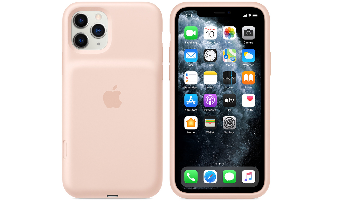 Etui Apple Smart Battery Case do iPhone 11 Pro Piaskowy róż