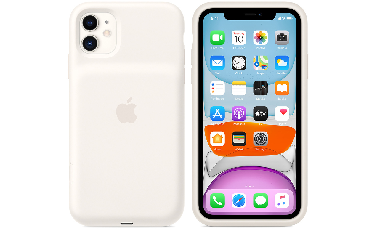 Etui Apple Smart Battery Case do iPhone 11 Białe