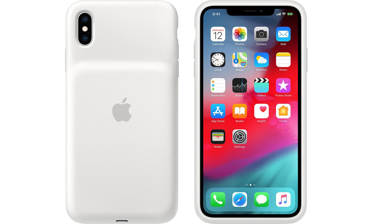Smart Battery Case do iPhone Xs Max White