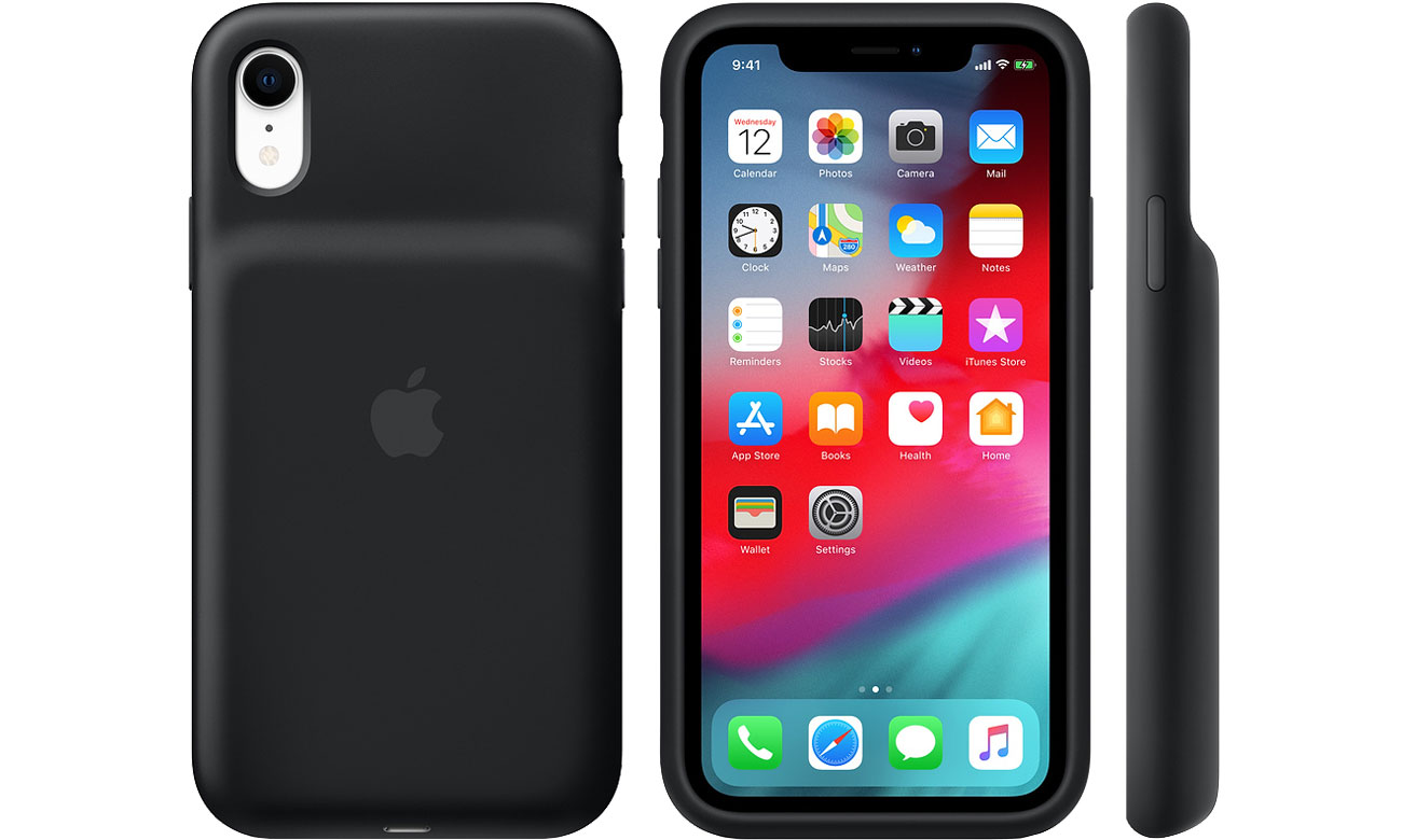 Etui Apple Smart Battery Case do iPhone Xr czarny