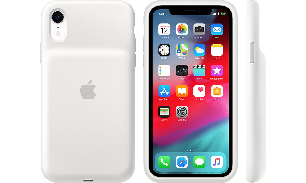 Etui Apple Smart Battery Case do iPhone Xr biały