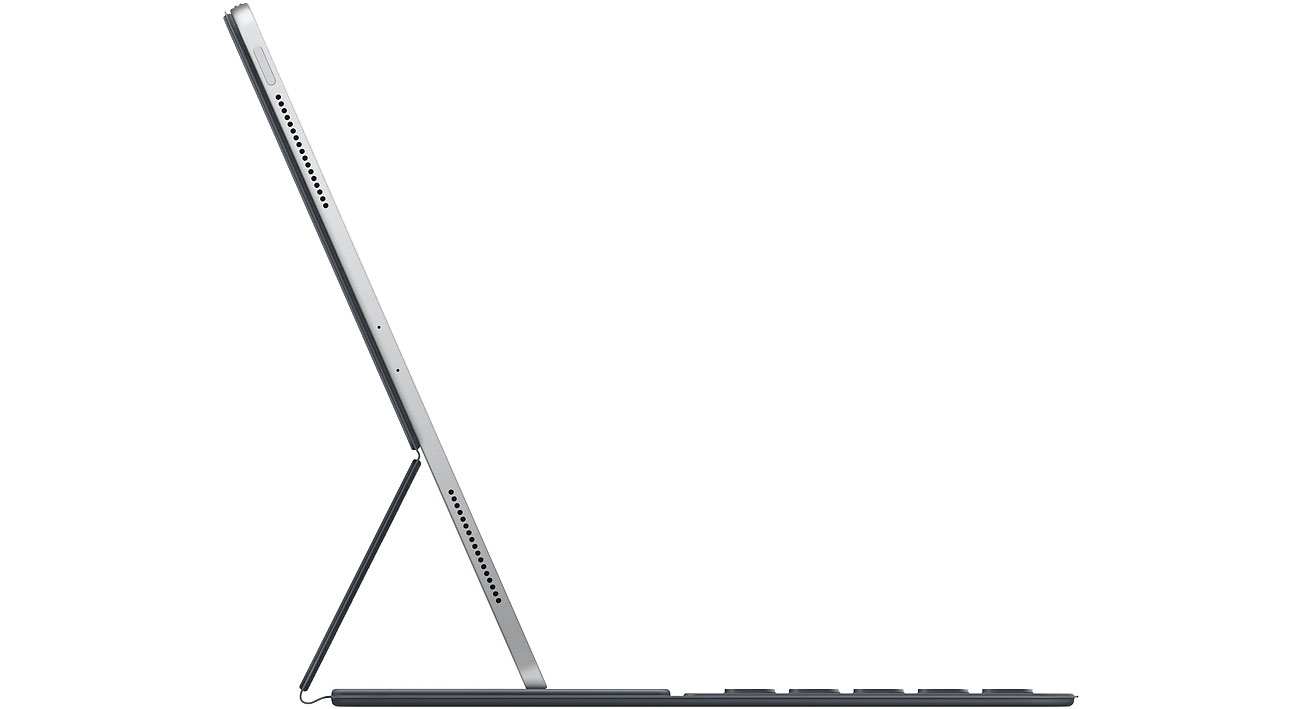 Apple Smart Keyboard Folio MU8H2Z/A Widok z boku