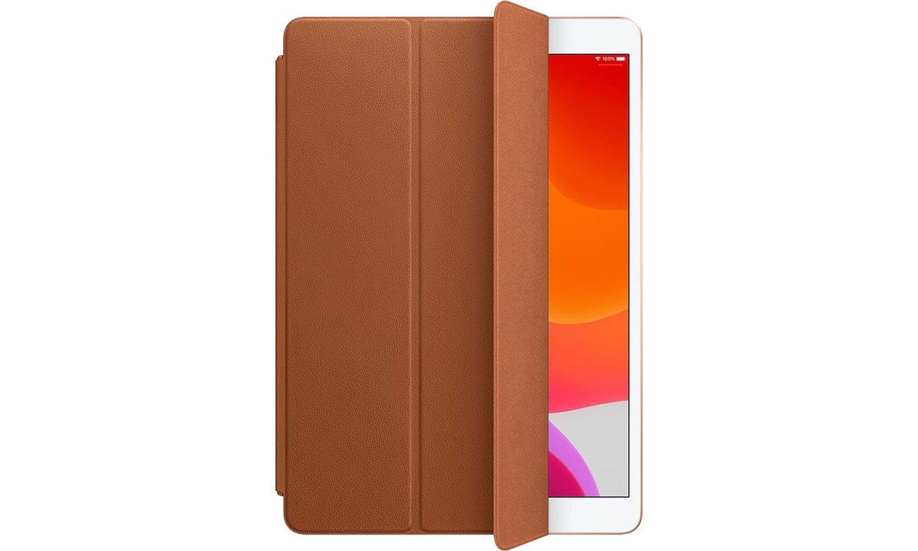 Etui Apple Leather Smart Cover do iPad 7gen / Air 3gen brąz