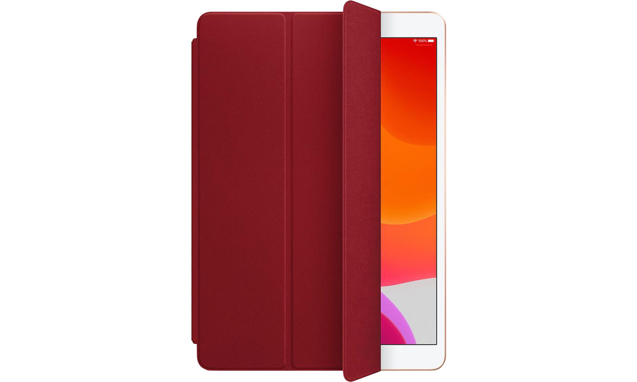 Etui Apple Leather Smart Cover do iPad 7gen / Air 3gen Red