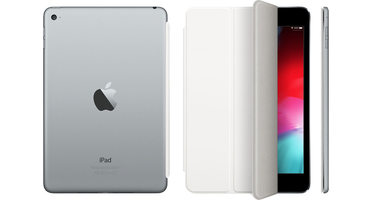 Etui na tablet Apple Smart Cover do iPad mini 4 biały