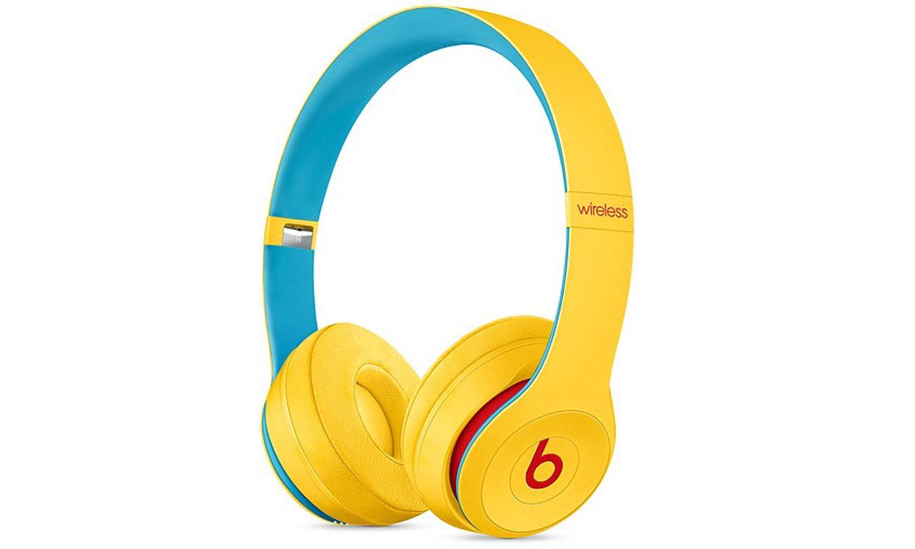 Słuchawki Apple Beats Solo3 Wireless Club Collection Żółte