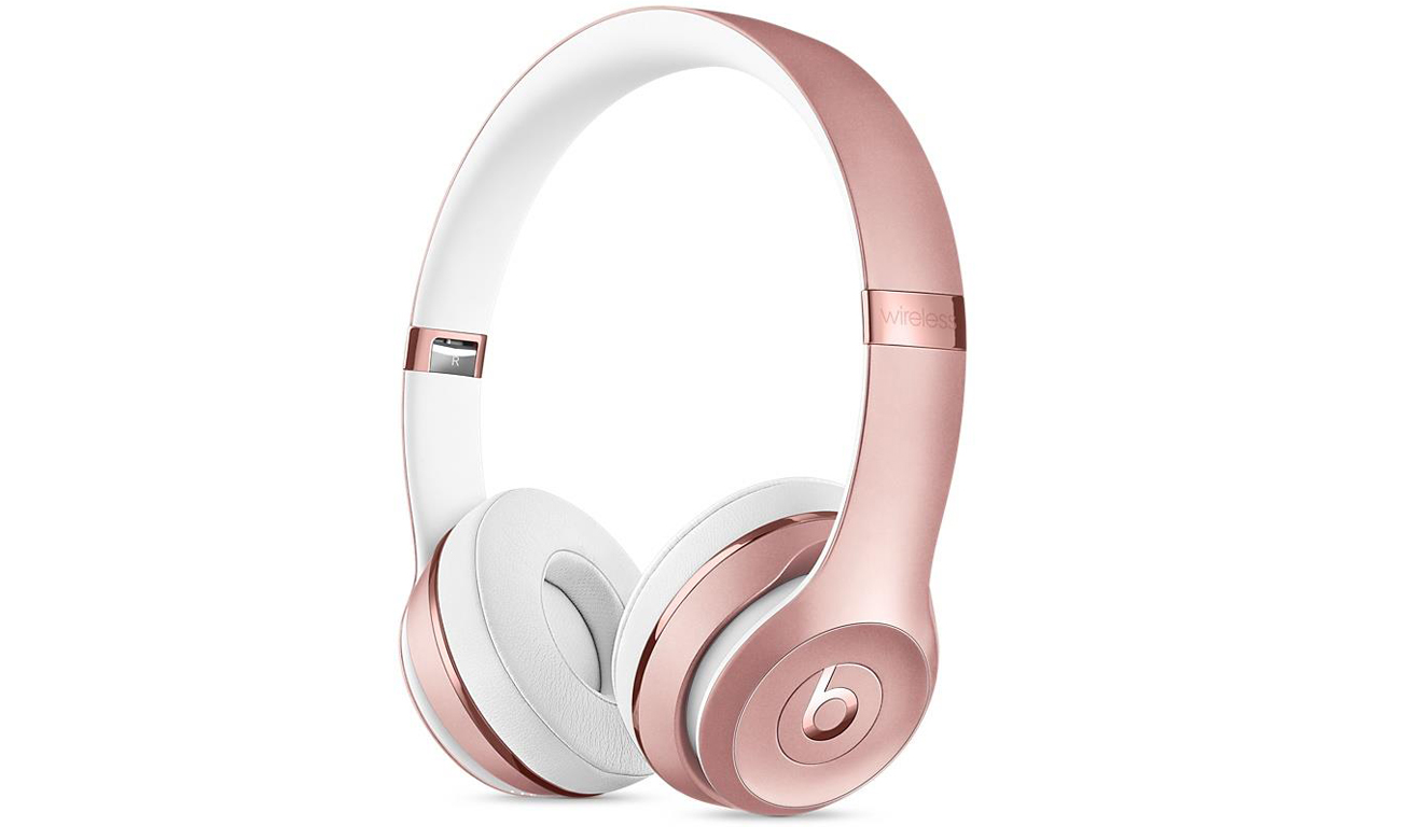 Słuchawki Apple Beats Solo3 Wireless Rose Gold Noise Isolating