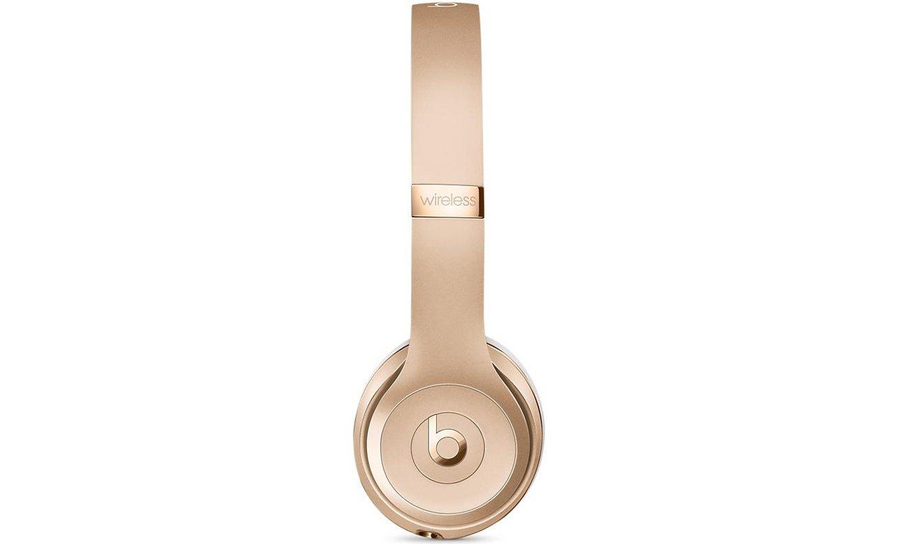 Słuchawki Apple Beats Solo3 Wireless Złote Bezprzewodowość, której oczekujesz