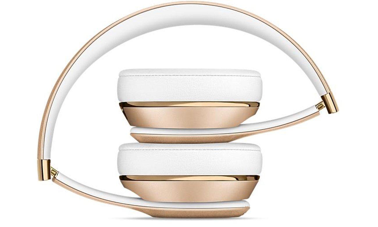 Słuchawki Apple Beats Solo3 Wireless Złote Poczuj muzykę