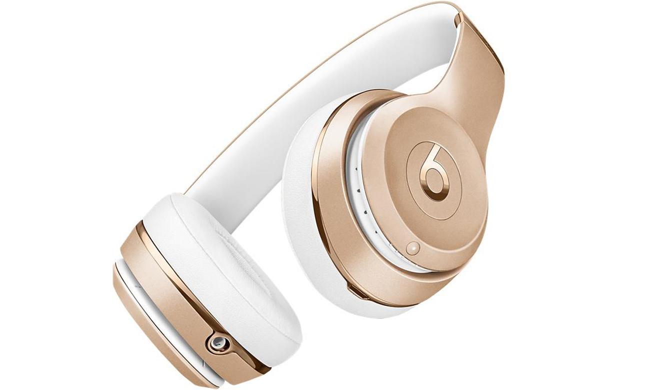 Słuchawki Apple Beats Solo3 Wireless Złote Bateria