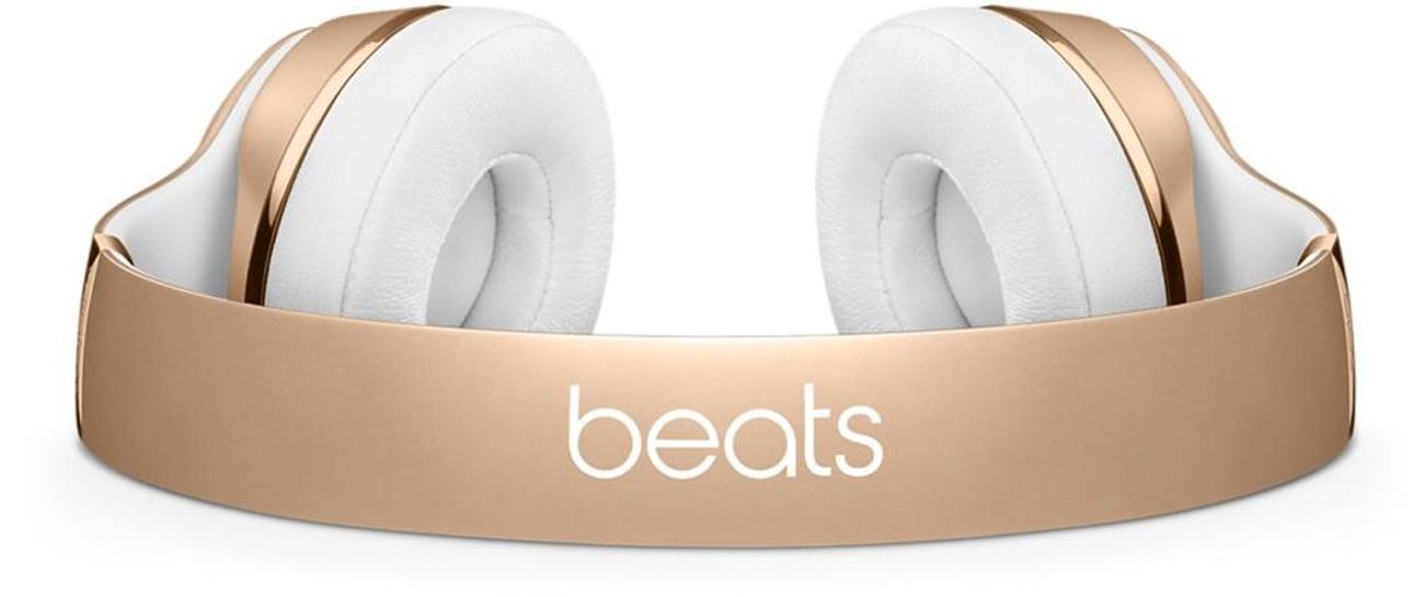 Słuchawki Apple Beats Solo3 Wireless Złote Komfort dopasowany do Ciebie