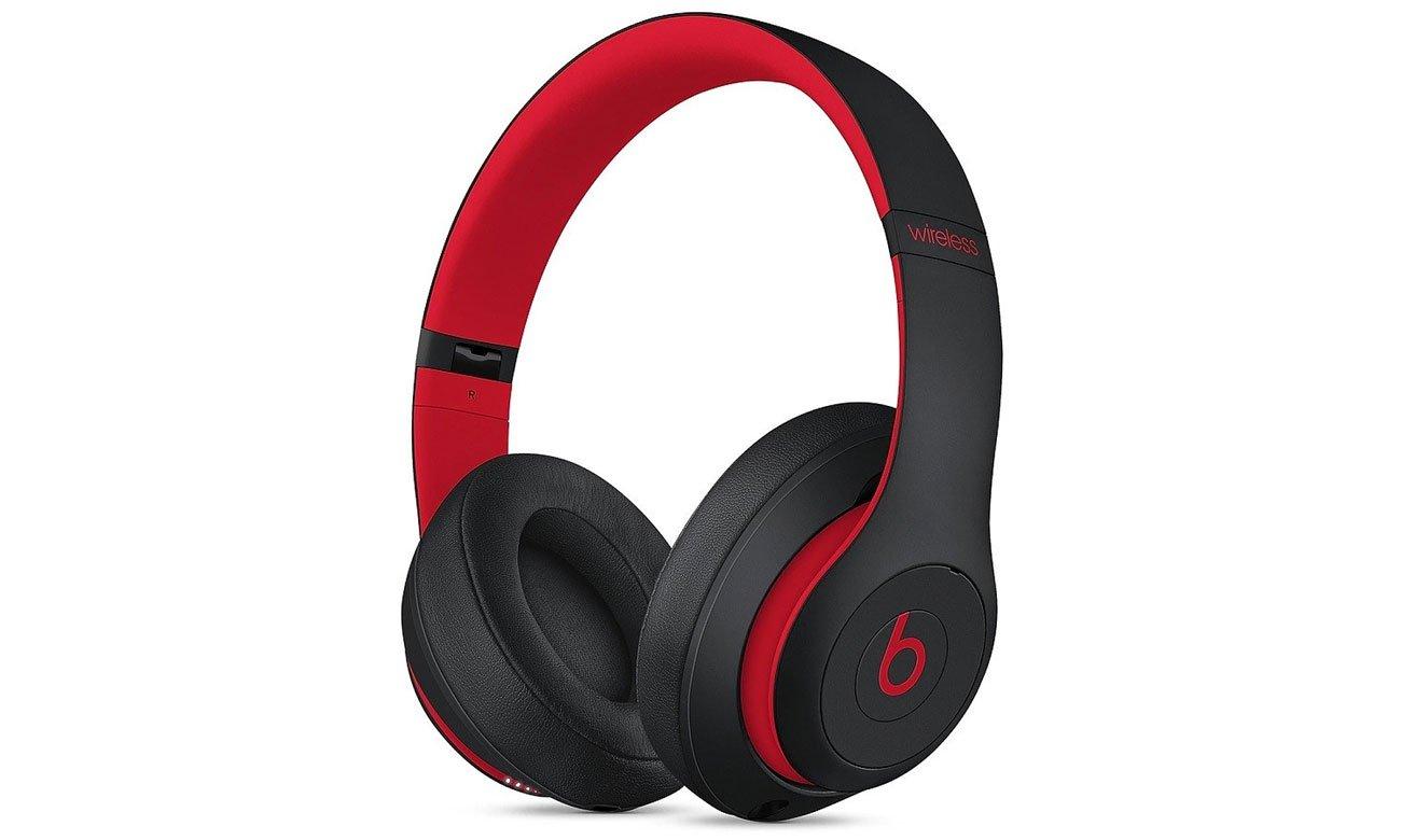 Słuchawki Apple Beats Studio3 Wireless Czarno-czerwone