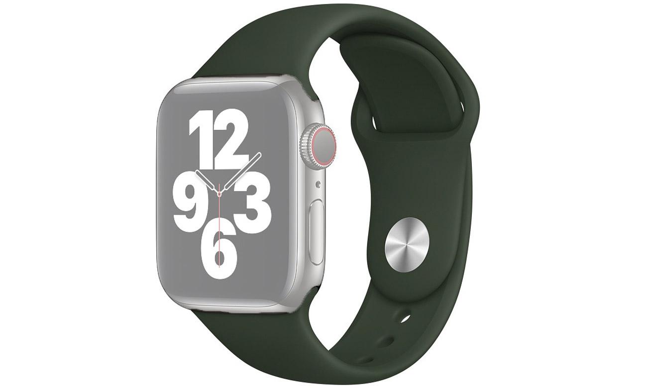 Pasek sportowy w kolorze cypryjskiej zieleni do Apple Watch 40 mm