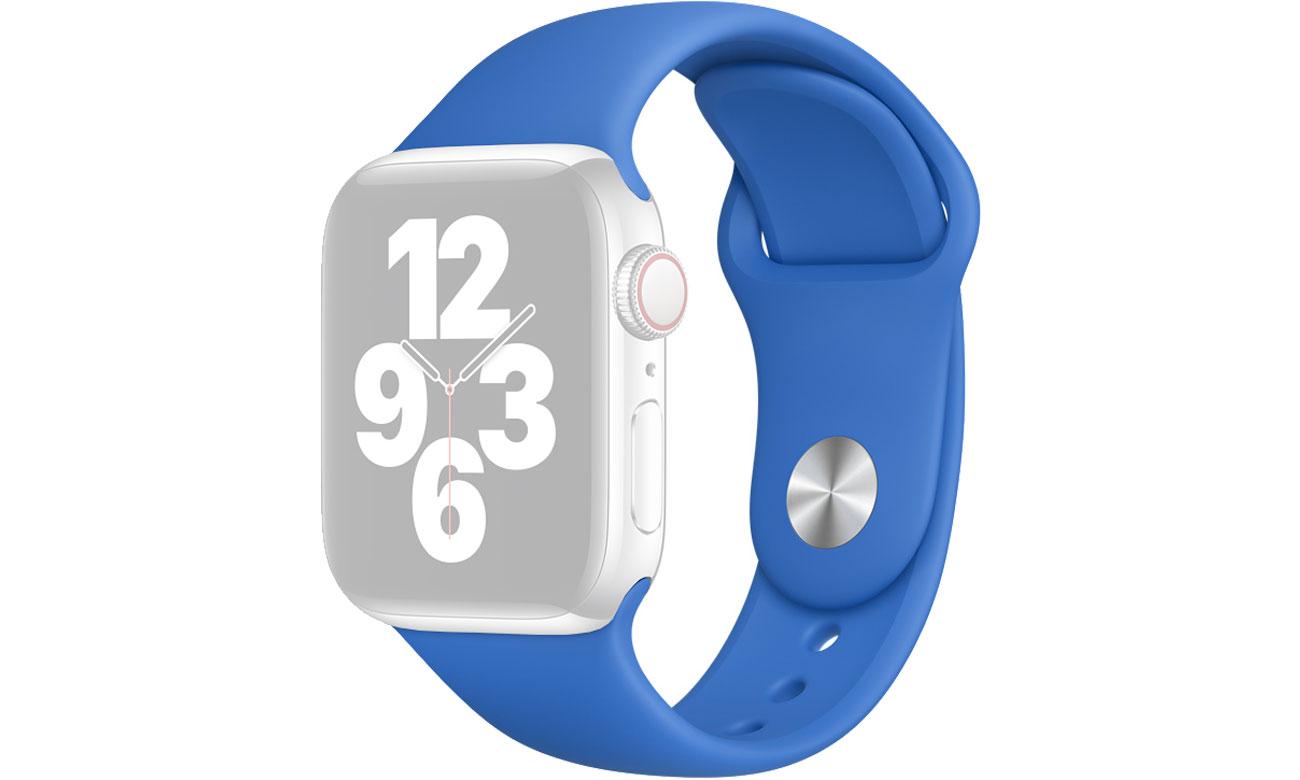 Pasek Sportowy do Apple Watch adriatycki błękit MJK23ZM/A