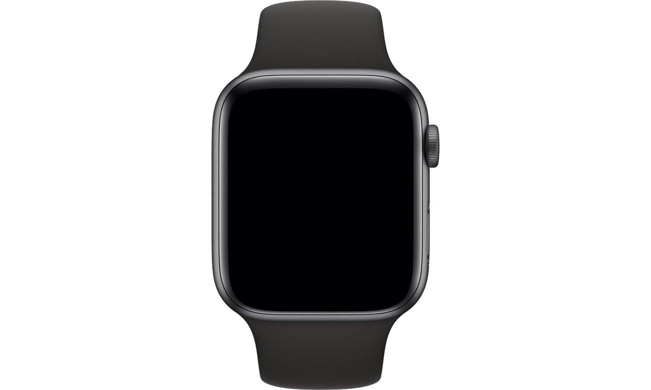 Apple Pasek sportowy czarny do koperty 44 mm