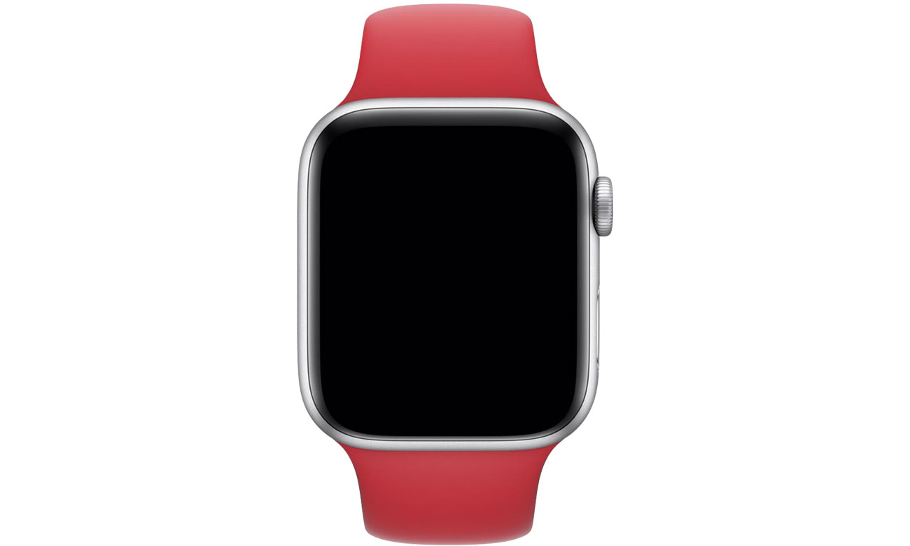 Apple Pasek sportowy RED do koperty 44 mm