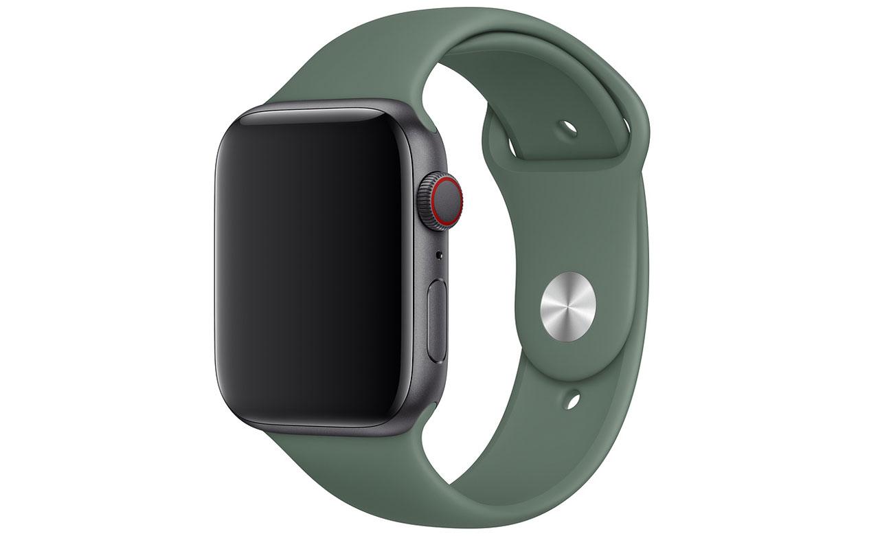 Pasek sportowy w kolorze sosnowym do Apple Watch 44 mm