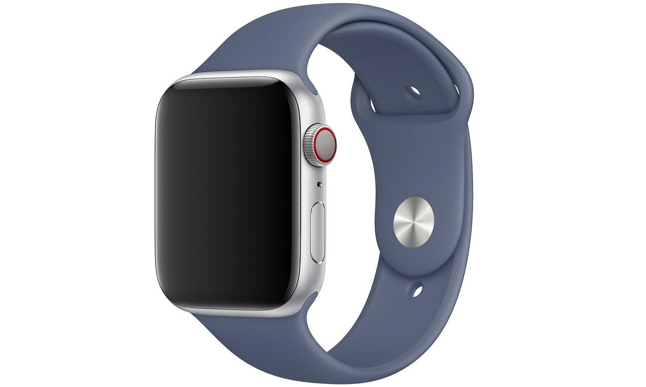 Pasek sportowy w kolorze nordyckiego błękitu do Apple Watch 44 mm