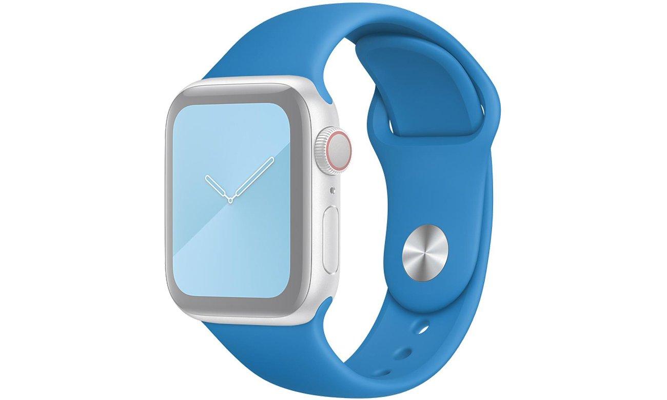 Pasek sportowy w kolorze błękitnej fali do Apple Watch 40 mm