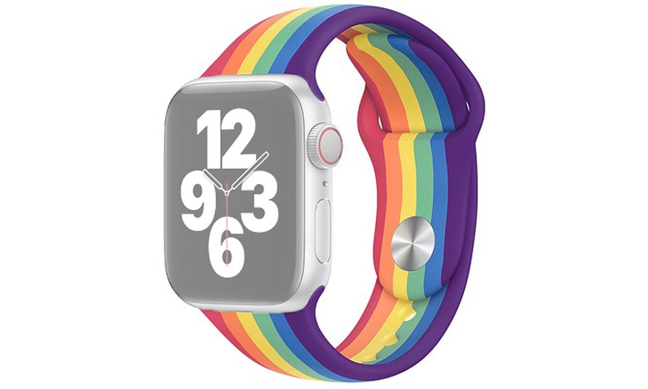 Pasek sportowy Pride Edition do Apple Watch 40 mm