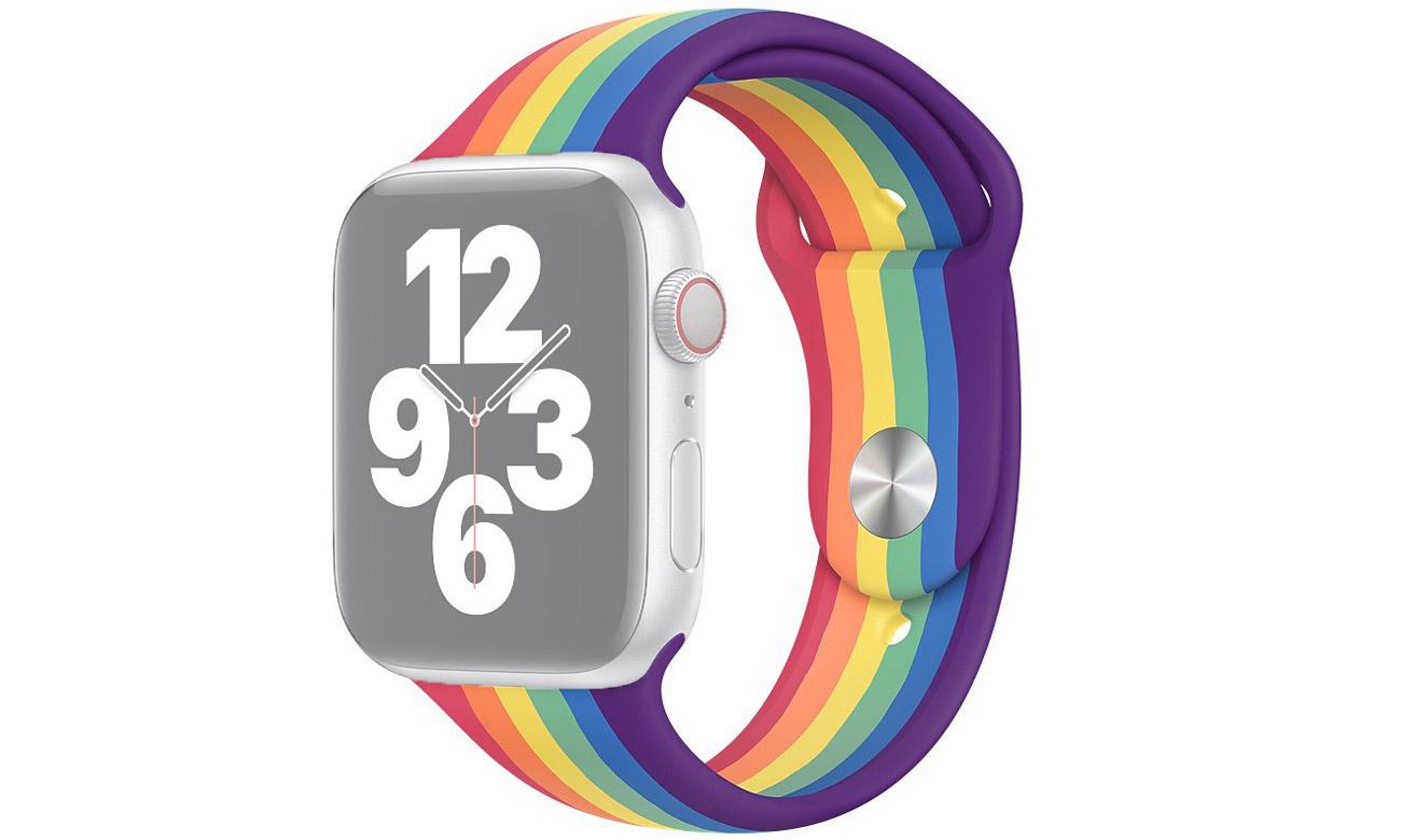 Pasek sportowy Pride Edition do Apple Watch 44 mm