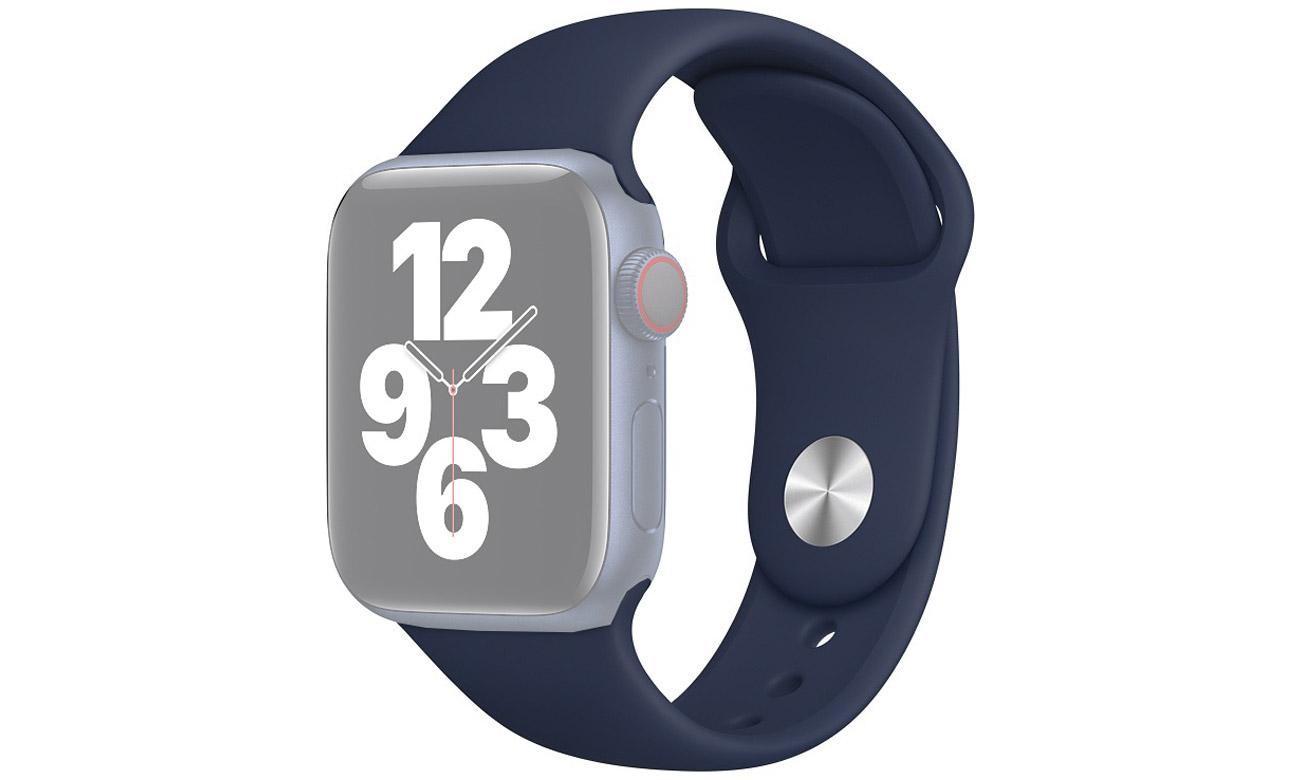 Pasek sportowy w kolorze głębokiego granatu do Apple Watch 40 mm