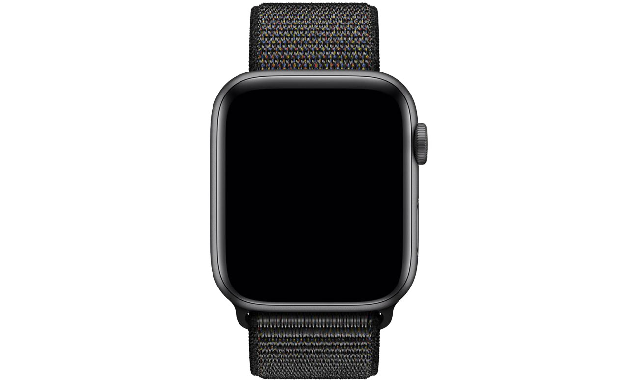 Apple Opaska sportowa czarna do koperty 44 mm - XL