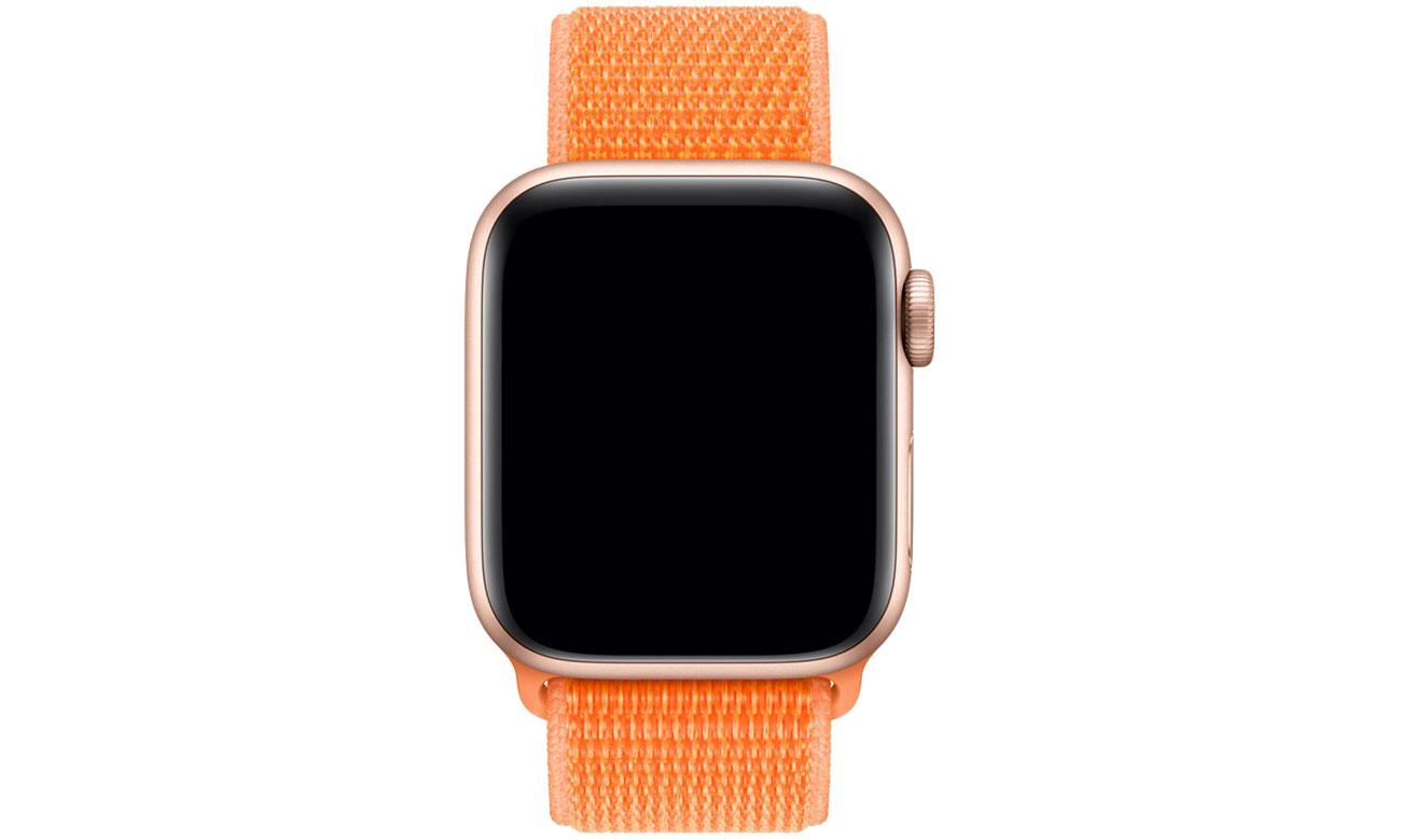 Apple Opaska sportowa pomarańczowa do koperty 44 mm