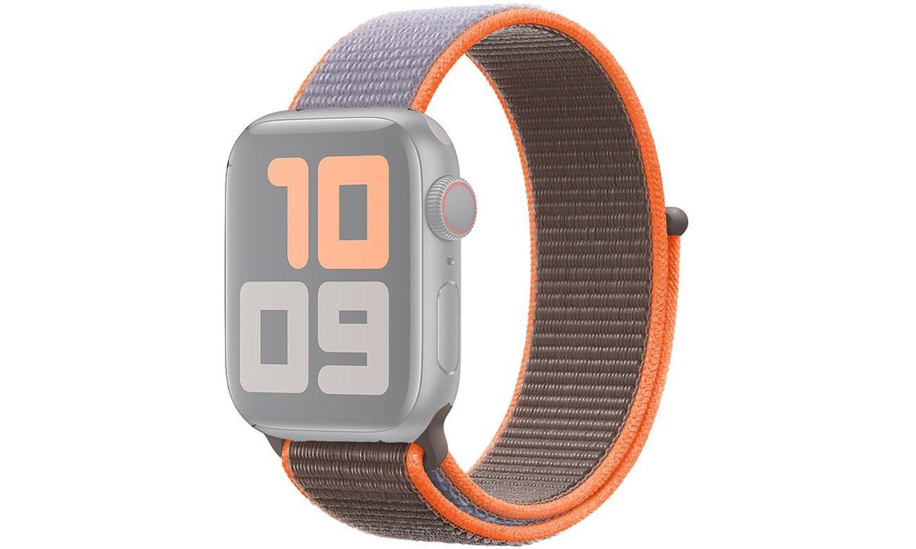 Opaska sportowa w kolorze Witaminy C do Apple Watch 40 mm
