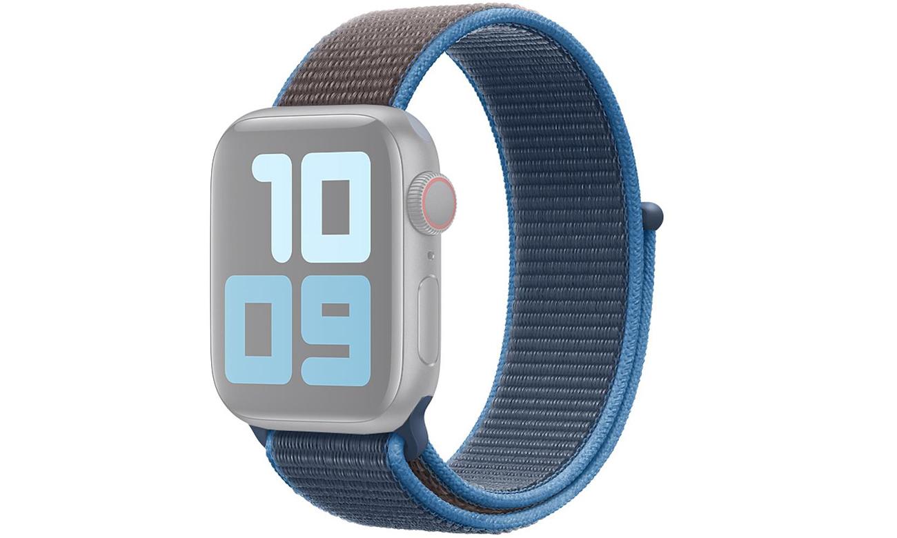 Opaska sportowa w kolorze błękitnej fali do Apple Watch 40 mm