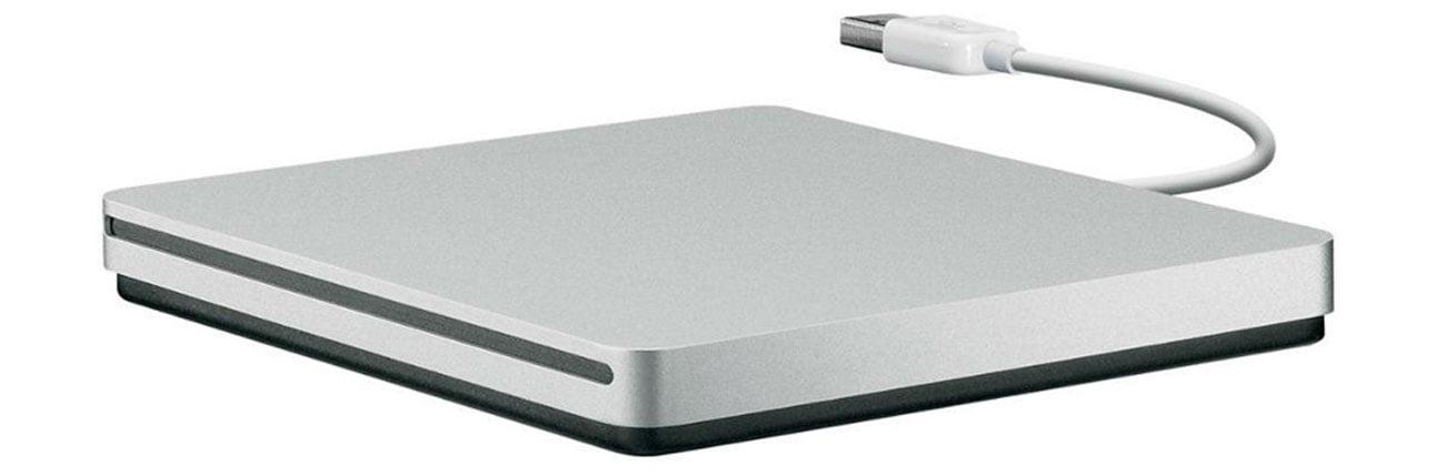 Apple USB SuperDrive kompakowy rozmiar plyty cd