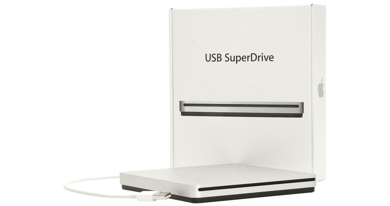 Apple USB SuperDrive zgodność