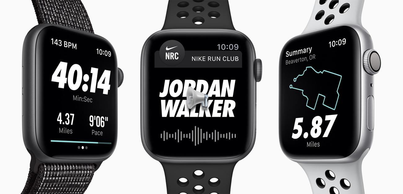 Apple Watch Nike+ 40 automatyczny program ćwiczeń