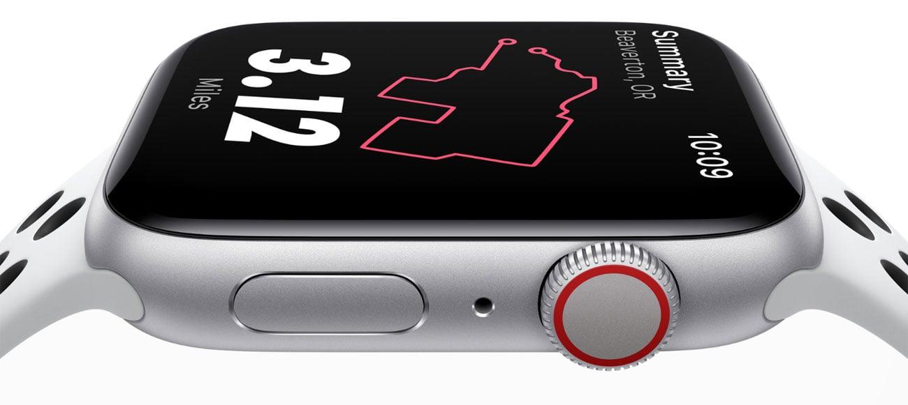 Apple Watch 5 ekran OLED LTPO retina 100 tarcz