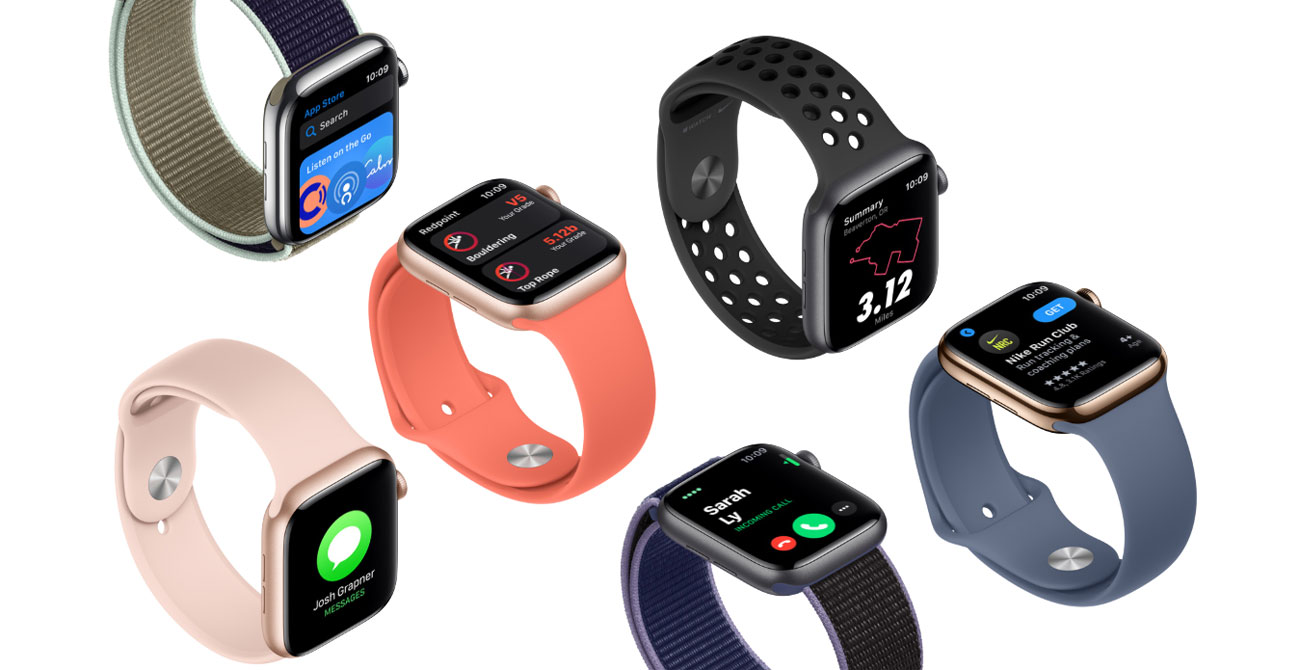 Apple Watch 5 tryby treningowe wyzwania